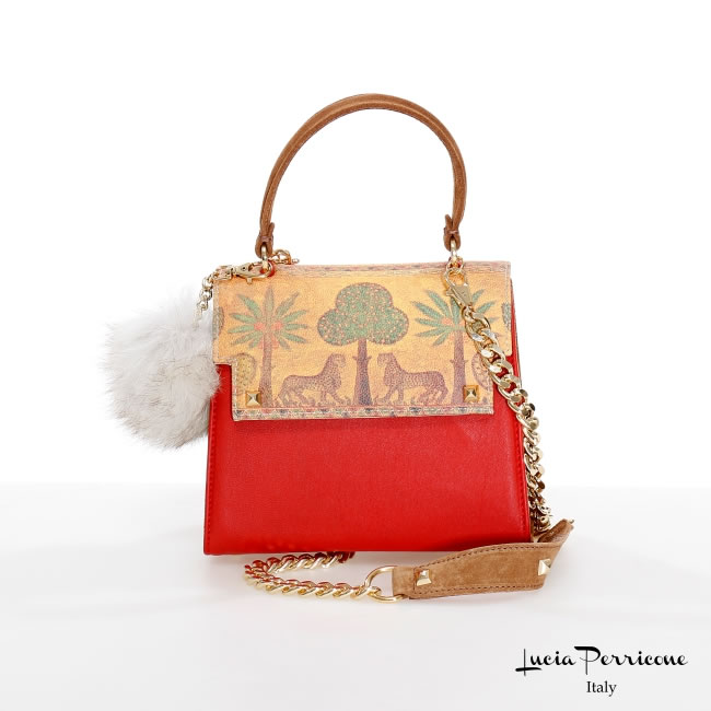 Nika Reale Red C044, Lucia Perricone Bags